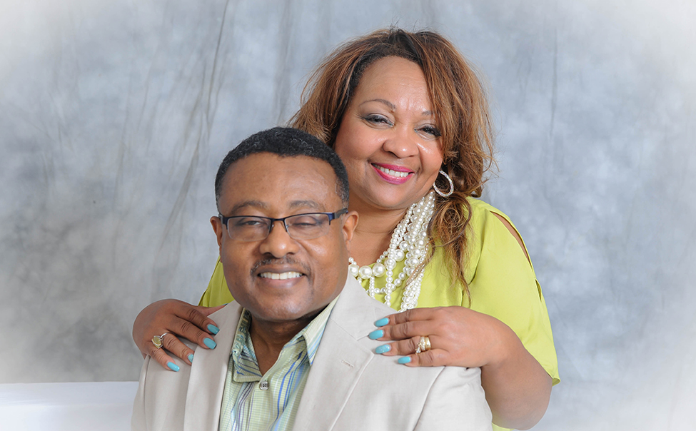 Pastor and First Lady Byrd